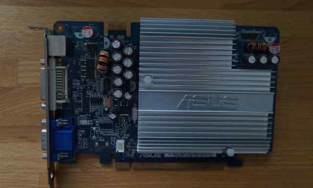 Видеокарта Asus EN7600GS Silent /HTD/256M