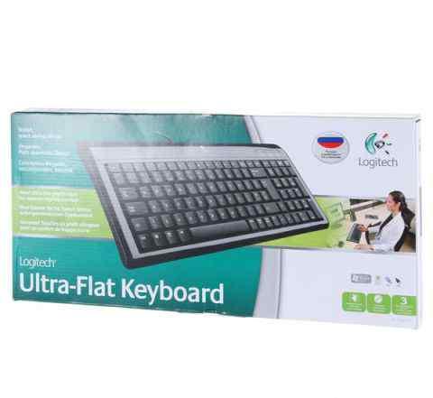 Клавиатура Logitech Ultra-Flat Keyboard, новая
