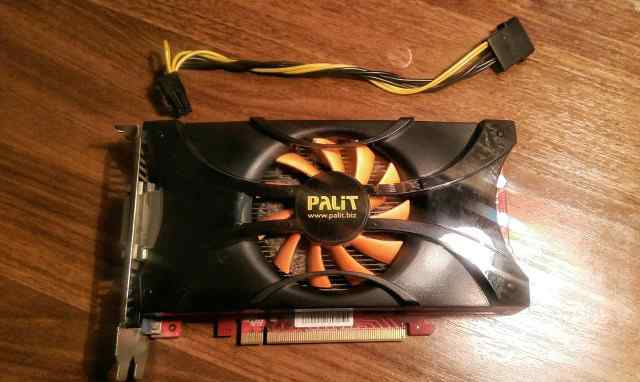 Видеокарта palit nvidia GeForce GTX 460