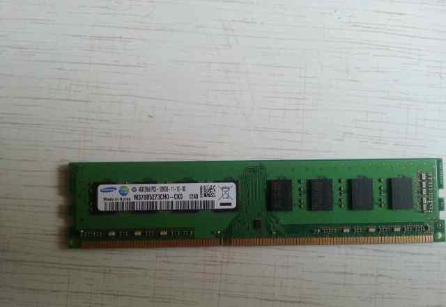Samsung DDR3 4gb 2rx8 pc3-12800u-11-10