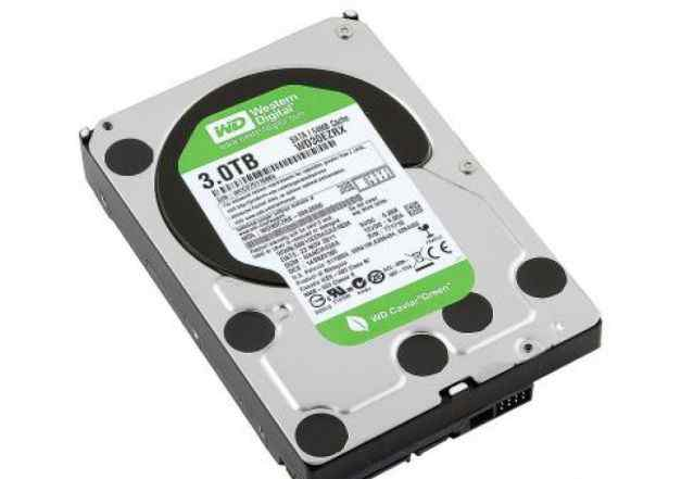 Жесткий диск 3.0Tb Western Digital Green WD30ezrs