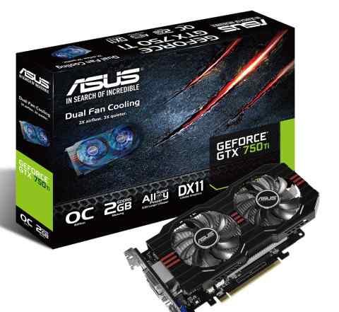 Asus GeForce GTX 750 TI 2GB DDR5 PCI-3.0