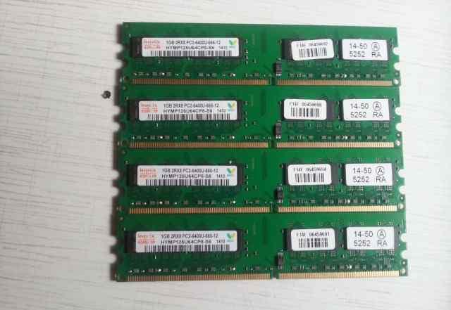 DDR 2 hynix 1gb 2rx8 pc2-6400u-666-12