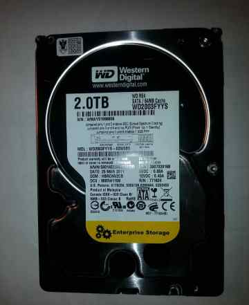 Жёсткий диск Western Digital 2.0 TB