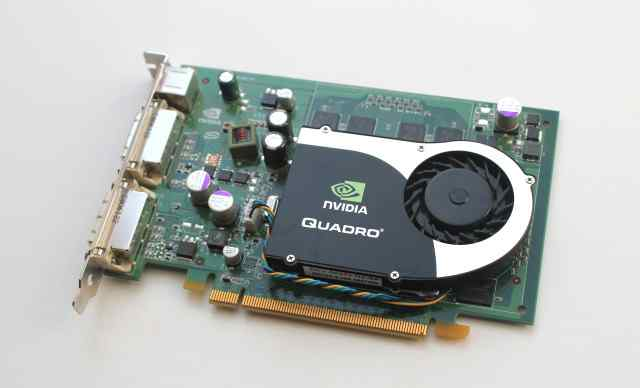 Видеокарта Quadro FX 1700