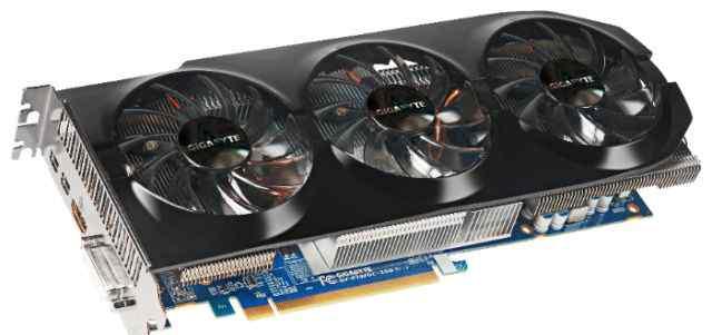 Видеокарта AMD Gigabyte Radeon HD 7870