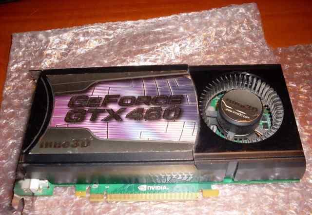 Видеокарта Inno3D Geforce GTX 460 1GB нерабочая
