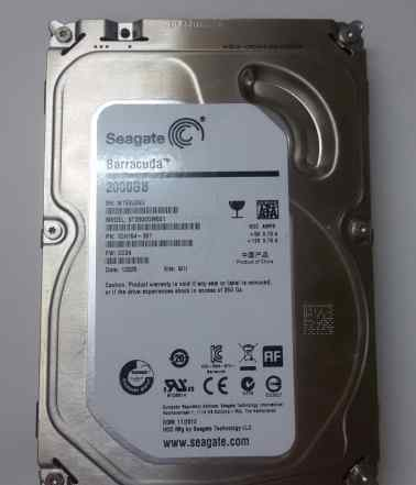 Seagate Barracuda ST2000DM001, 2Тб, HDD, SATA III