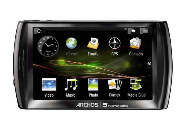 58archos 5 internet tablet 8Gb