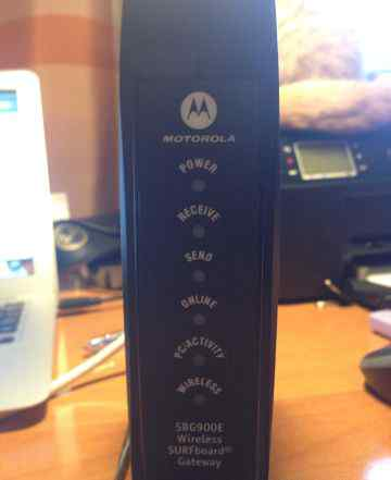 Модем Motorola SBG900E беспроводной