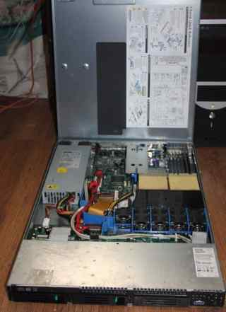 Сервер Xeon 2800x2 1U