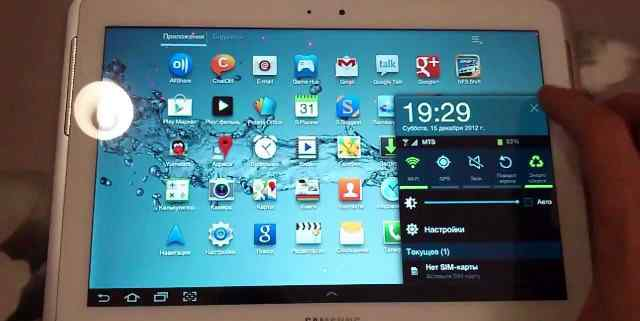 Samsung GalaxyTab 2 обменяю на любой iPad