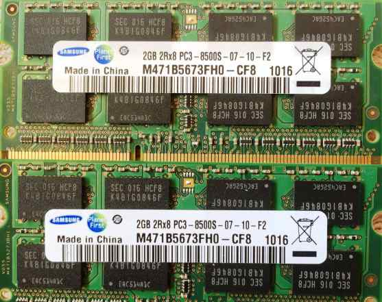 Samsung Original Sodimm DDR3 4Gb