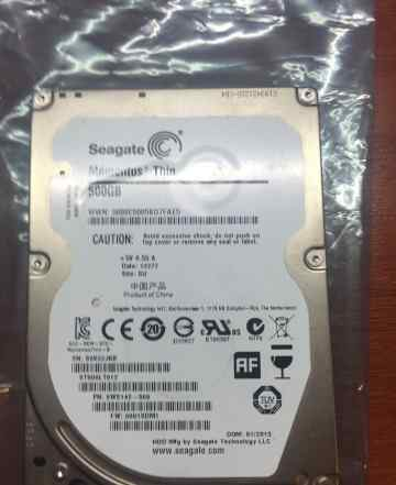 HDD Seagate Momentus Thin 500Gb