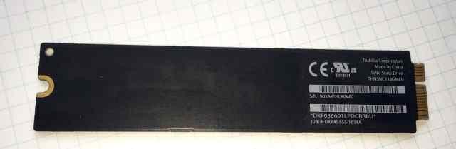 SSD 128GB для MacBook Air 11