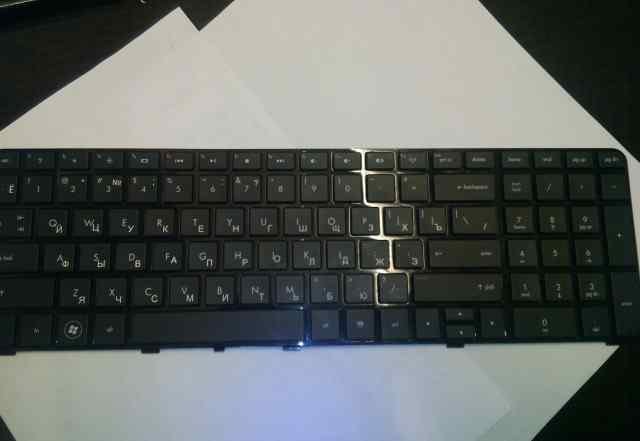 Клавиатура для ноутбука HP Pavilion dv7-4000 черна