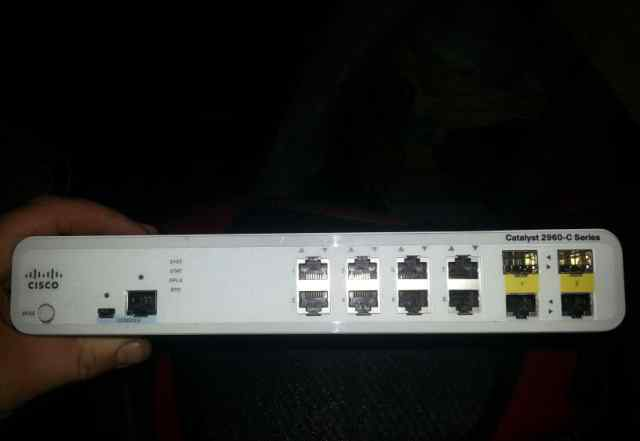 cisco catalyst 2960-C 8 TC-L