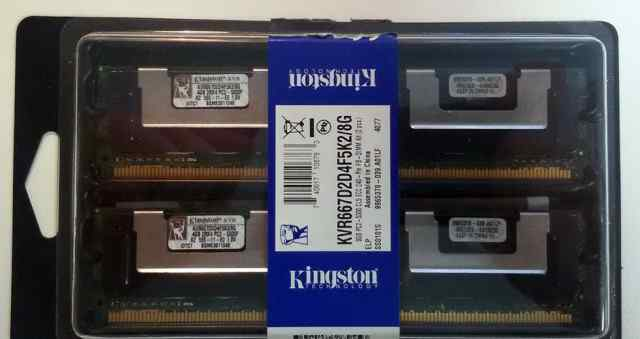 Оперативная память DDR-II FB-dimm 8Gb KIT 2x4Gb