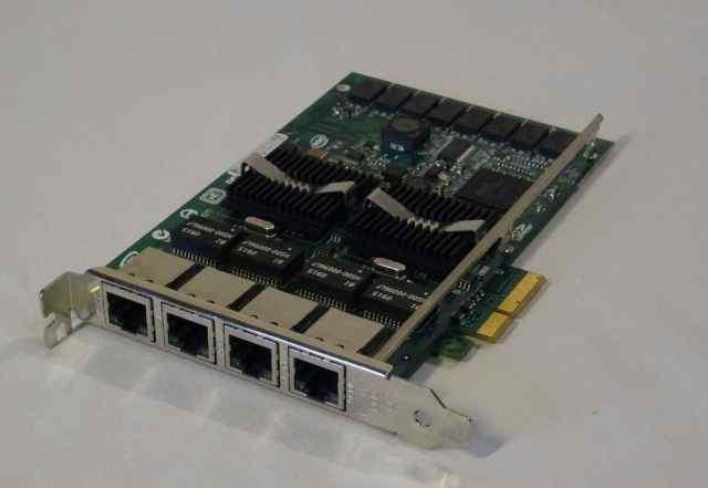 PCI-E expi9404ptblk - 4-ех портовая сетевая карта