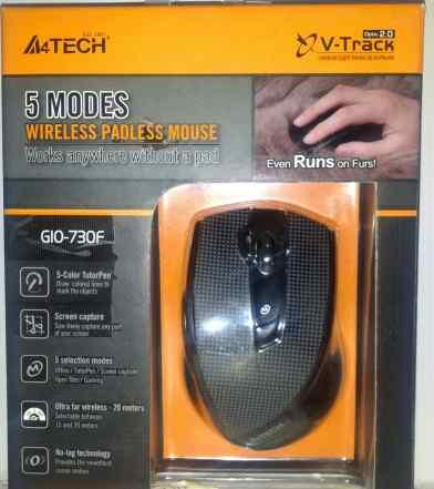 A4tech беспроводная мышка G10-730F