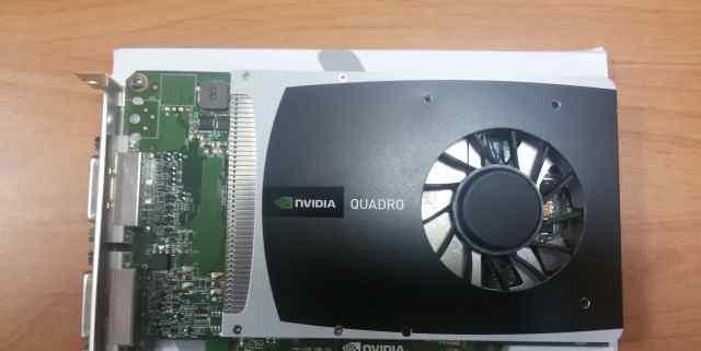 Профессиональная видеокарта nVidia Quadro 2000D