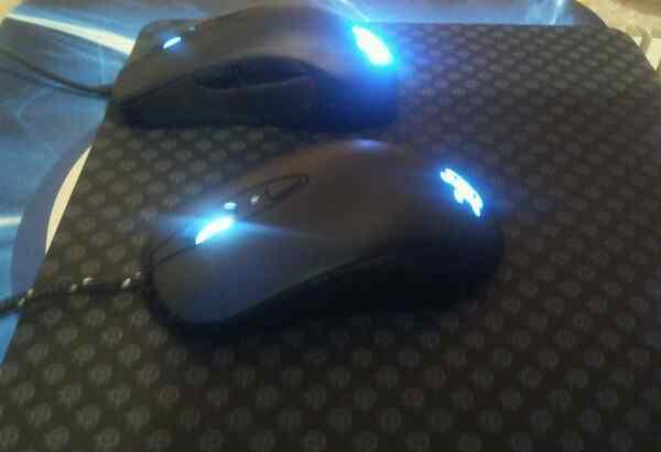 SteelSeries Мышь Sensei и Rival