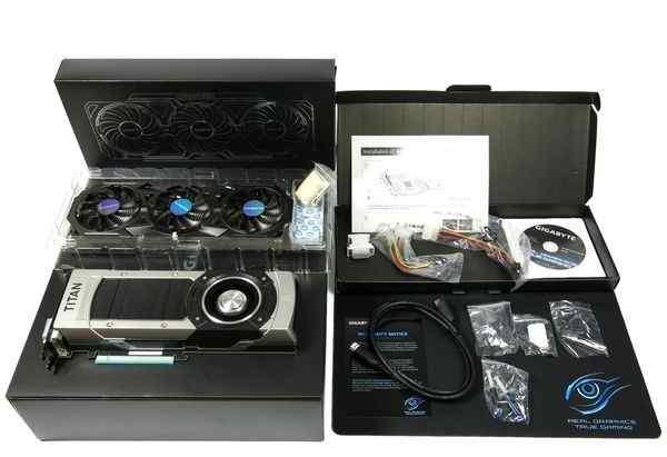 Видеокарта GigaByte Geforce Titan Black OC на гар