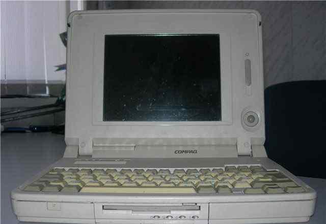 Ноутбук Compaq lte elite 4/40C