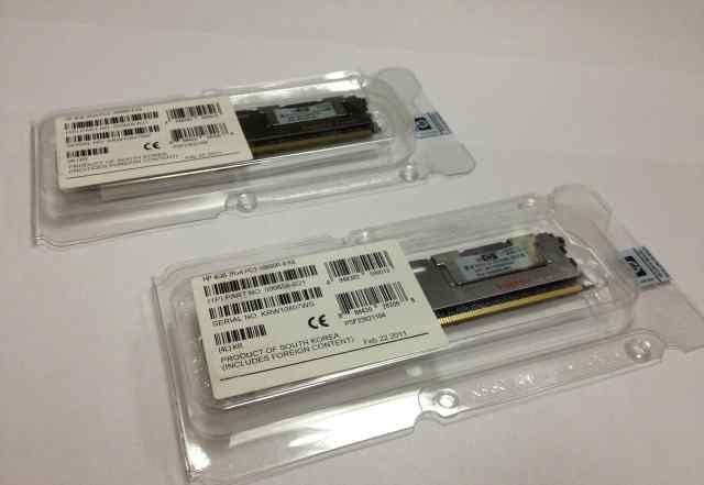 500203-061 500658-B21 HP 4GB 2Rx4 PC3-10600R-9 Kit
