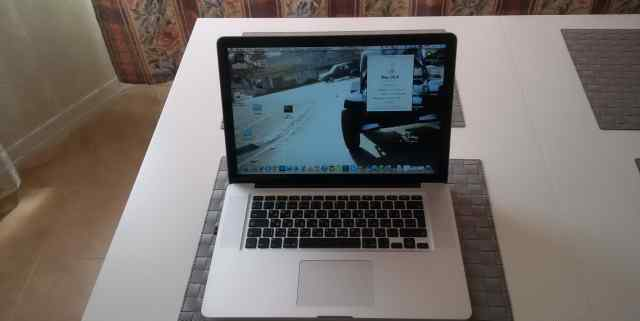 Macbook PRO 15 Late 2011 Core i7
