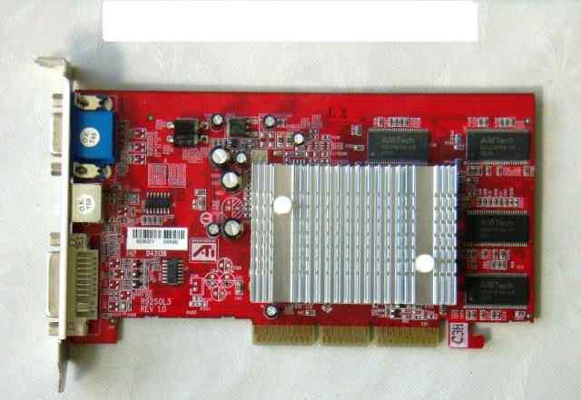 Видеокарта AGP Radeon 9250