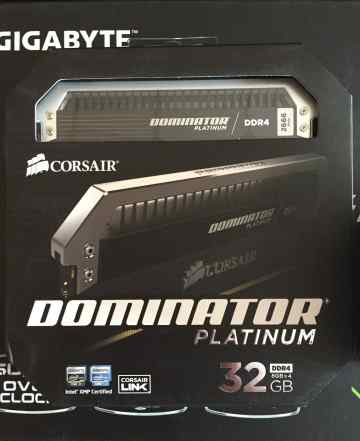 Corsair dominator 32 Gb DDR4