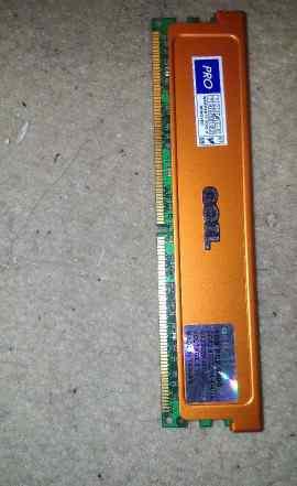 Оперативка DDR2 800MHz Geil GX22GB6400UDC 2x1GB