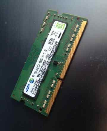 Модуль памяти samsung DDR3 2 гб