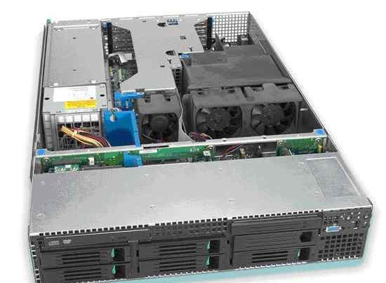 Сервер 2U Intel SR2500 Xeon 5400 4x8.32Gb RAM