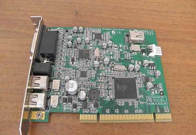 Плата видеозахвата pinnacle systems bigben-5101649