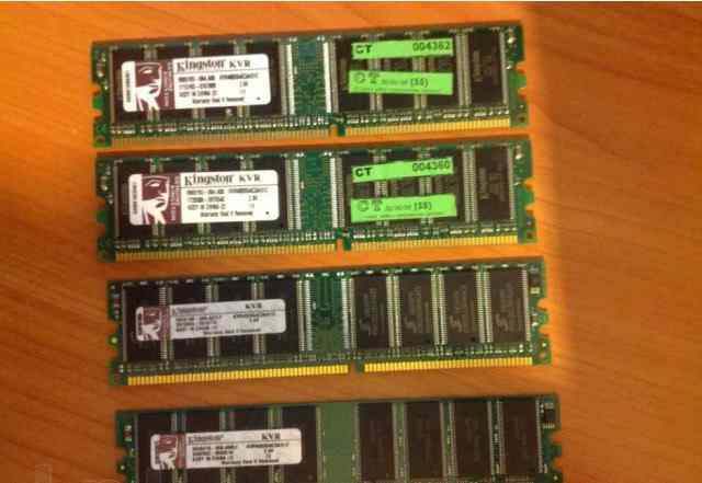 Память DDR 512mb Kingston KVR400X64C3A/512