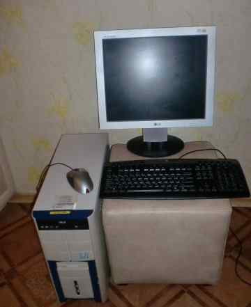 Компьютер-системный блок, монитор, клавиатура, мыш