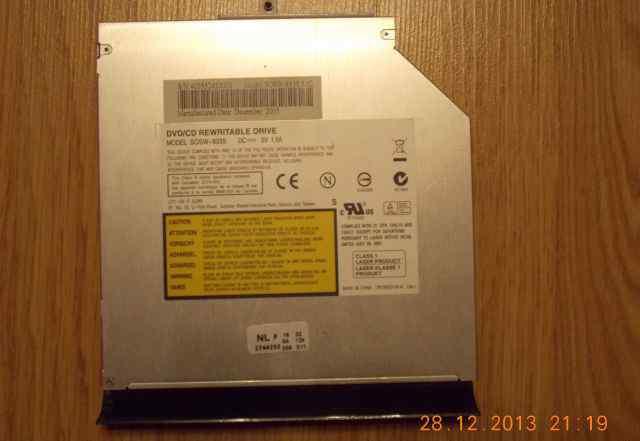 """DVD-RW/ RW LiteON sosw-833S-51C Black"""