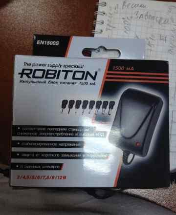 блоки питания Robiton EN1500S 3-12V 1500ма