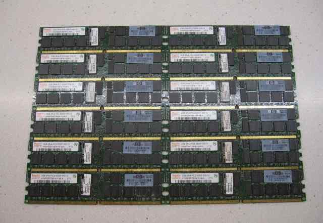 Hynix серверная 2Gb DDR2 667 ECC Reg