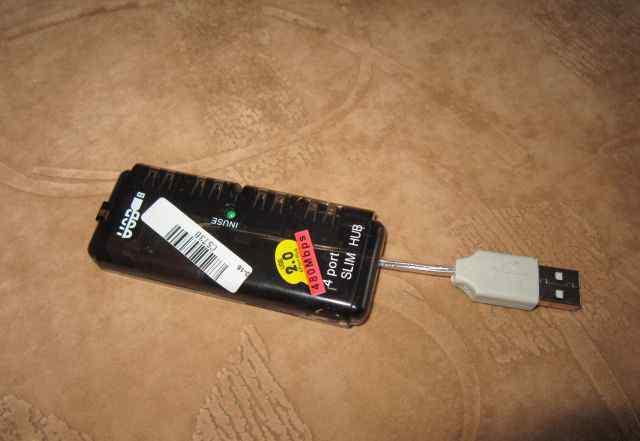 USB-Hub 4 порта 2.0