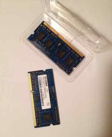 Elpida DDR3 2Gb х2