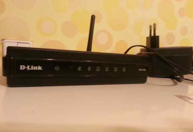 D-Link DIR-300 WiFi роутер