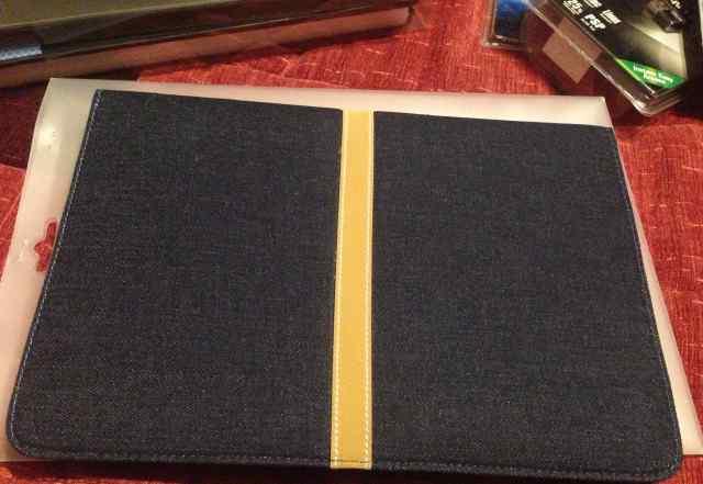 Чехол для MacBook Air 11 джинсовый конвертом