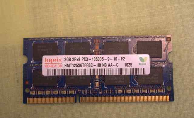 Оперативная память Hynix DDR3 so-dimm 2Gb