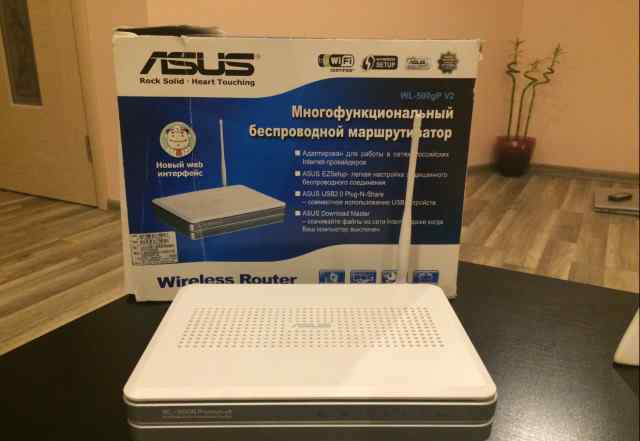 Asus wl-500gp v2+ модем йота