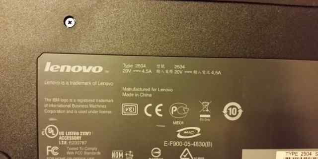 Док-стнция для ноутбука Lenovo