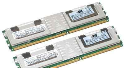 Серверная озу HP 398706-051 1 Гб DDR667