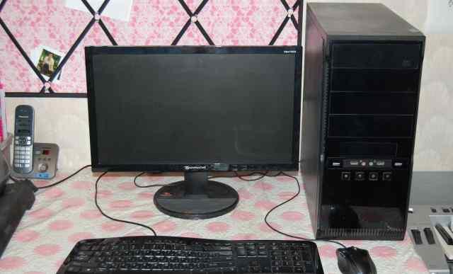 Монитор+ Процессор+ Мышь+ Клавиатура